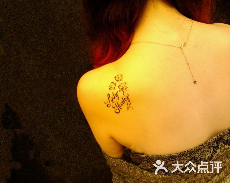 海娜手绘纹身