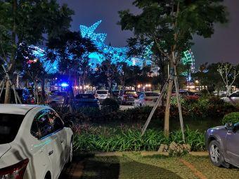 海棠广场停车场