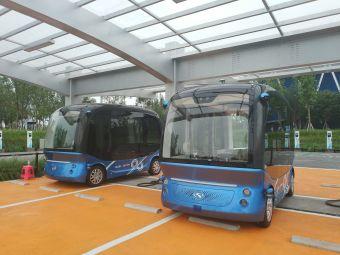 雄安市民服务中心电动汽车充电站