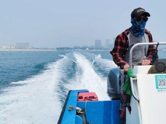 东戴河出海打渔