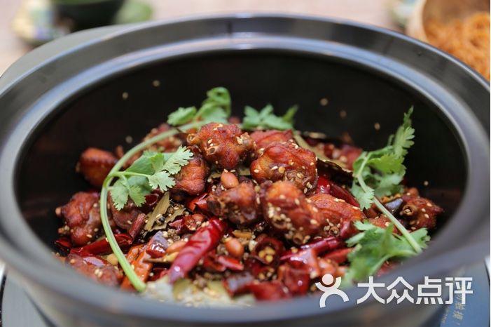 海南椰子鸡火锅辣子鸡煲图片 - 第11张