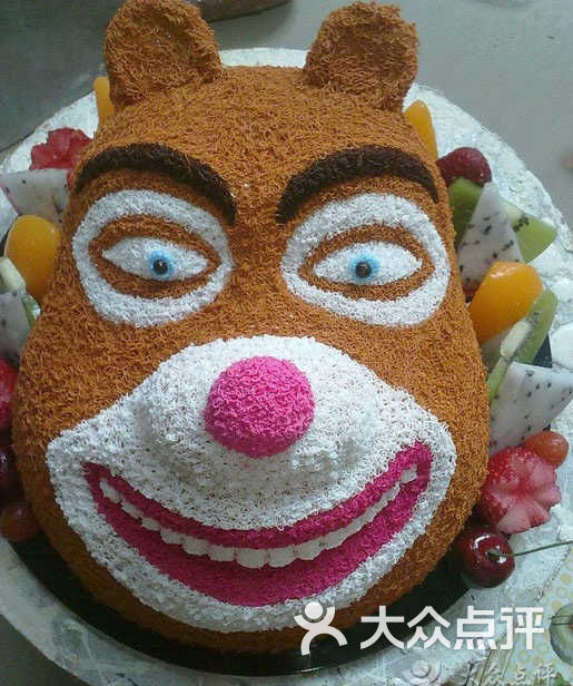 小q蛋糕(购书中心店)-熊大动漫蛋糕图片-广州美食