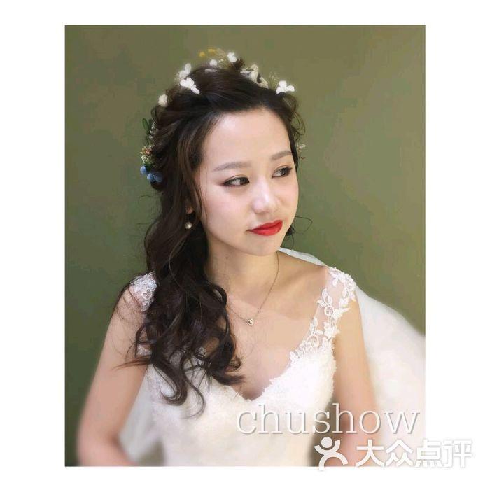新娘发型黑白手绘