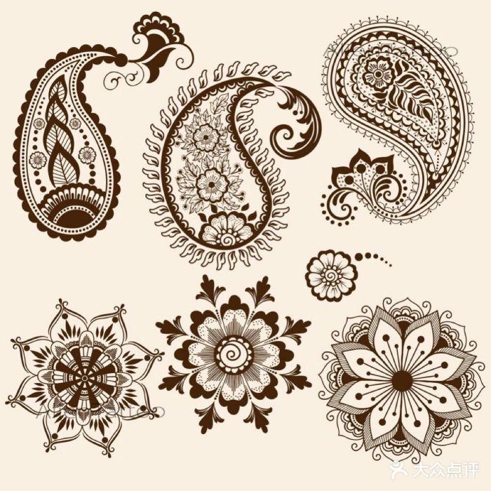 曼陀罗海娜手绘工作室图片 - 第11张