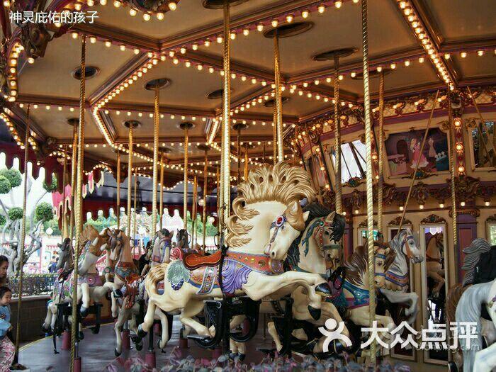 香港迪士尼乐园-旋转木马-游乐设施-旋转木马图片