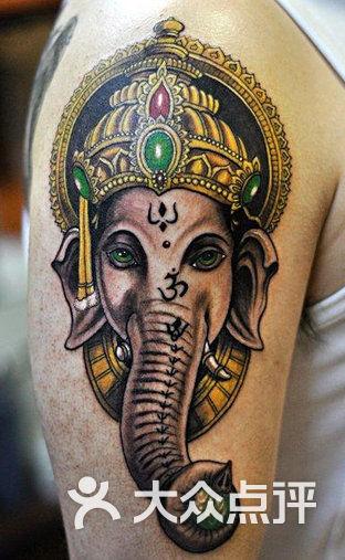 泰国神象纹身图案大全
