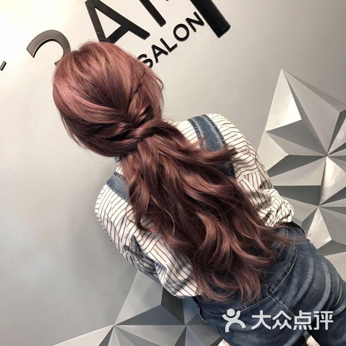 3am hair salon烫发染发(晶融汇店)yishen染发作品图片 - 第1786张图片
