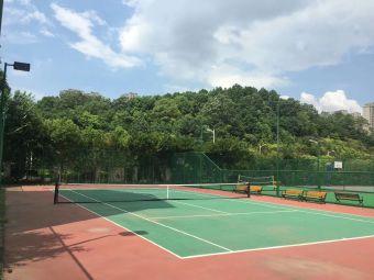 八方小区网球场