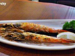 赤坂亭 炭火烧肉(新天地店)的烤虾