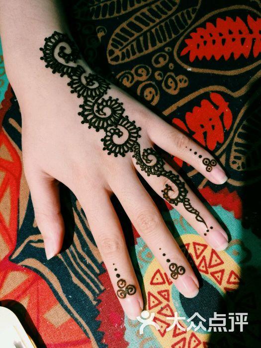 赋美·印度海娜手绘纹身(钟楼骡马市店)图片 - 第6张