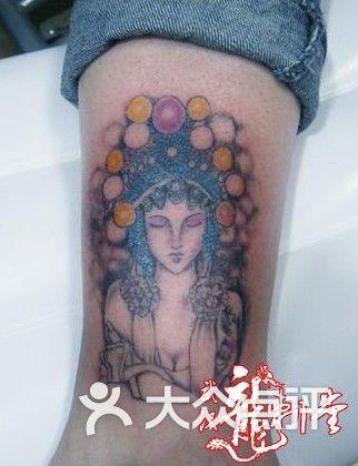 龙刺堂纹身满背赵云 武汉最好的纹身江汉路刺青图片 上海纹身 大众点