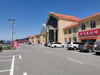 蛟河服务区停车场