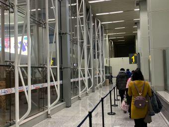 乌鲁木齐地窝堡国际机场T1航站楼停车场