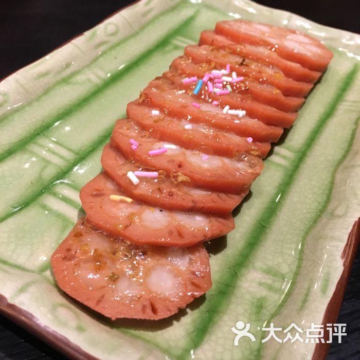 美食小馆(王府井百货大楼店)-桂花图片藕天意-简单糯米的如何v美食图片