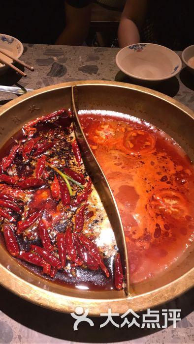 小龙坎老火锅-鸳鸯火锅-菜-鸳鸯火锅图片-青岛美食