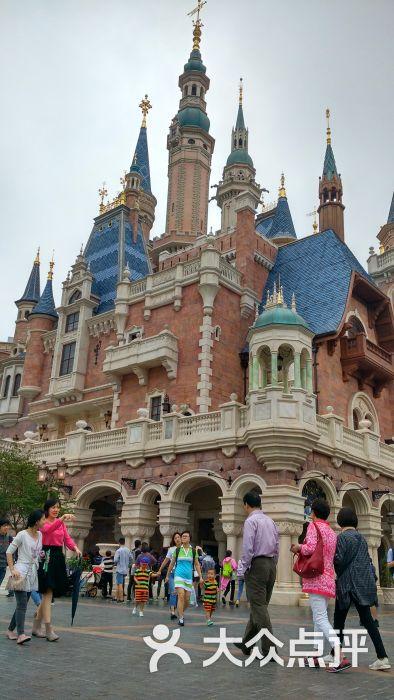 上海迪士尼度假区城堡图片 - 第2张