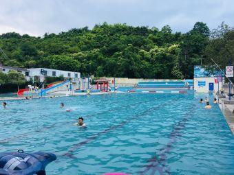 军事体育运动学校游泳池