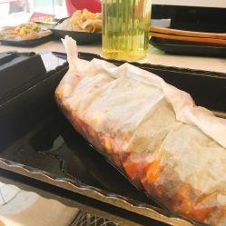 纸上烤黔鱼