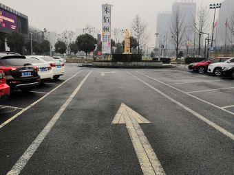 海宁中国皮革城停车场