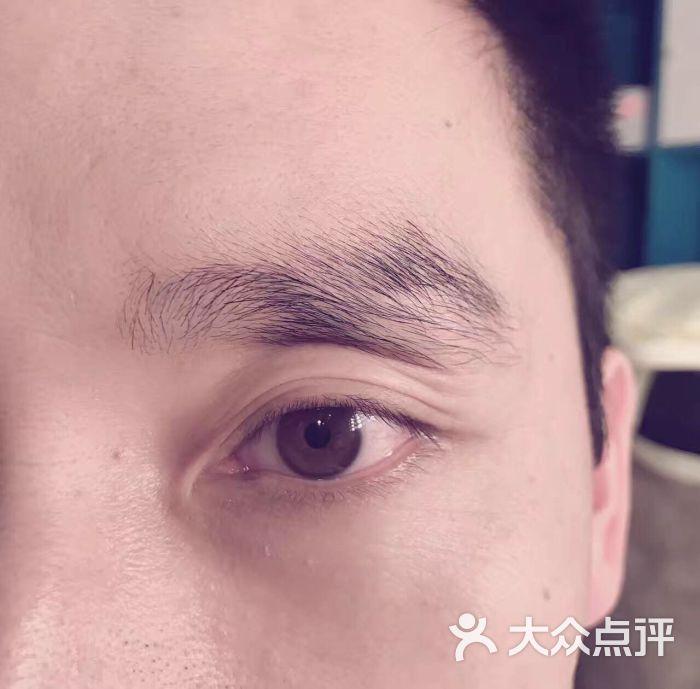 素颜秀韩式定妆半永久纹绣纹眉(上海广场店)-图片