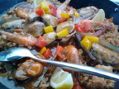Time Roamer西餐厅的海鲜饭