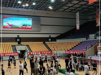 鞍钢体育馆-东南门