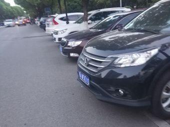 汉口江滩停车场