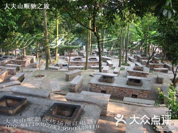 大夫山森林公园顺驰烧烤场烧烤炉12图片-北京烧烤