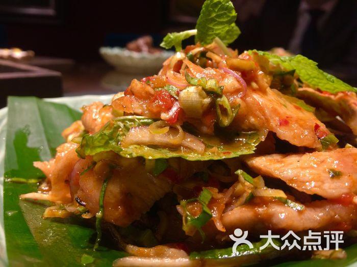 金美食泰国餐厅-图片拌猪颈肉香茅-大连美食胡椒网杭州图片