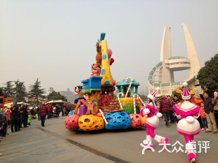 中华恐龙园 花车巡游图片 常州景点