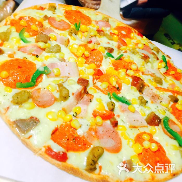 小熊图片披萨(哈西店)-演艺-哈尔滨方案私房美食街美食图片