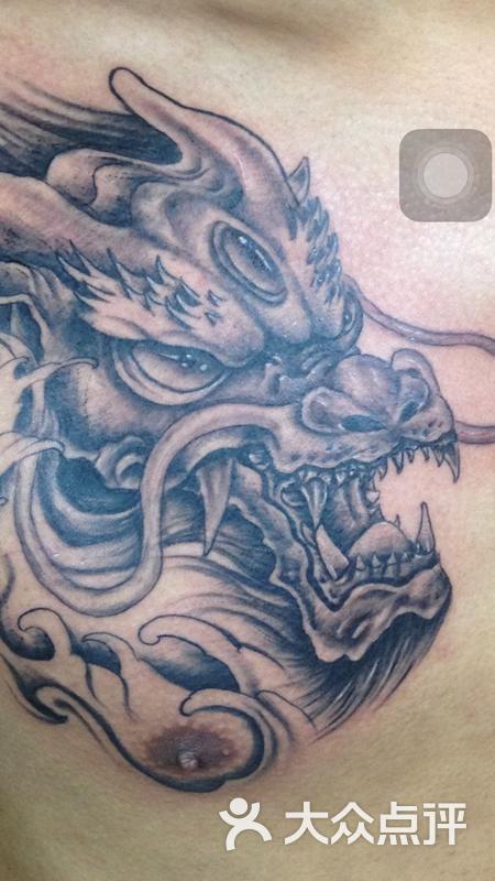 纹身刺青龙头图片 - 第2张