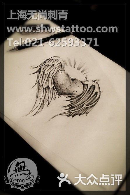 无尚刺青纹身工作室手稿:new school猫纹身图案设计图片