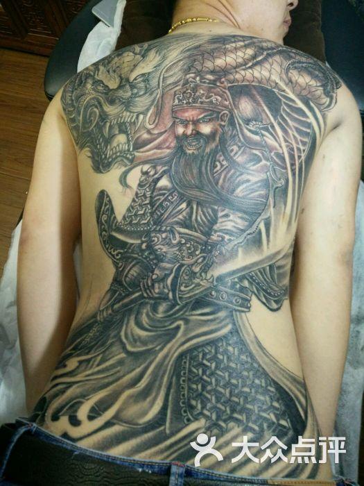 纹身满背关公,龙轧图片 - 第8张