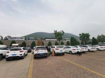 嵩山少林寺风景区停车场