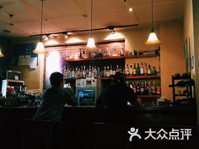 指纹主题咖啡屋-吧台-环境-吧台图片-北京美食-大众