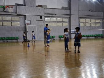哈尔滨林业大学篮球场