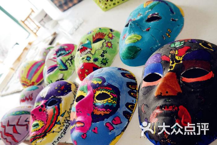 手绘面具图片-上海