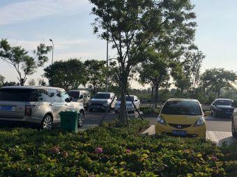 桑沟湾湿地公园-停车场