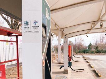 官厅服务区国家电网电动汽车充电站