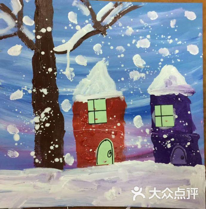 易道创意美术中心儿童创意绘画学生作品图片 - 第2张图片