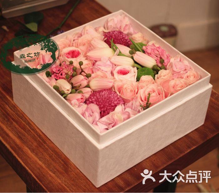 木结构花盒图片