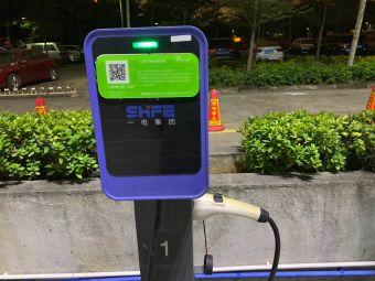 生生国际购物中心电动汽车充电站