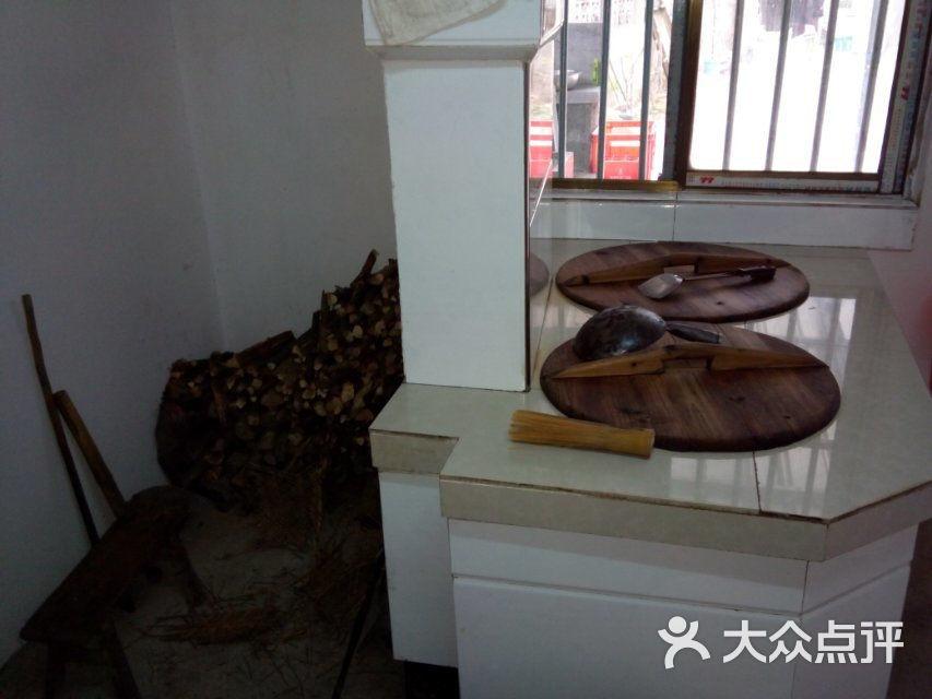农村土灶图片-石峰农家乐 农家土灶图片 泾县美食图片