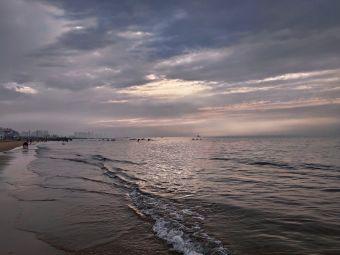 烟台金沙滩海滨公园-观光休息区