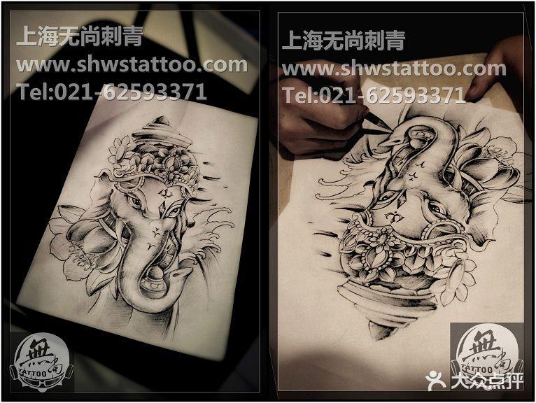 去纹身设计手稿要钱么分享展示图片