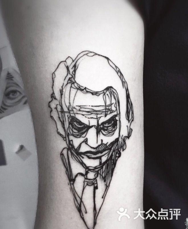 小丑纹身 喜欢私聊