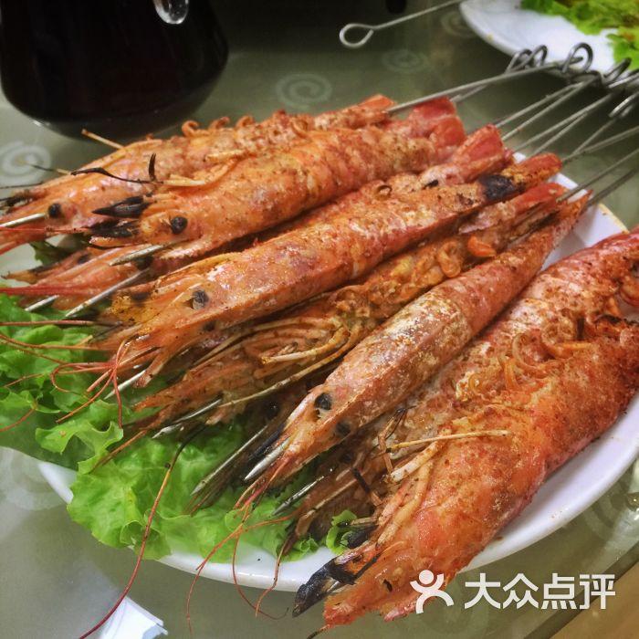台北传奇-烤大虾图片-青岛美食-大众点评网