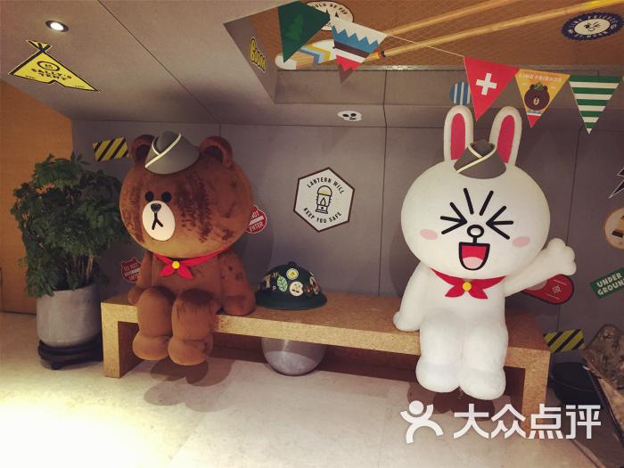 line friends cafe & store(银泰店)-图片-北京美食