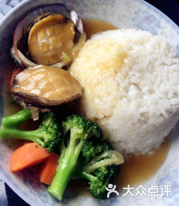 捞饭菜谱鲍鱼饭店农家乐图片
